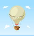 air balloon isometric vector image