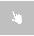 hand cursor computer symbol vector image