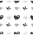 tea shop seamless pattern vector image