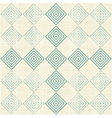 Diamond cross background vector image vector image