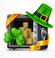 st patrick s day treasure vector image