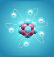 colorful scientific design concept vector image