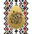 Happy Easter Sign symbol logo vector image