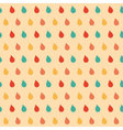 colourful drops seamless pattern vector image
