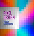 Pixel Template vector image vector image
