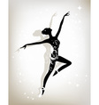 Ballet dancer for your design vector image