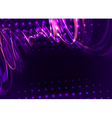 abstract spiral purple vector image