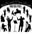 orchestra set vector image