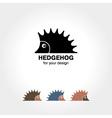 Hedgehog icon vector image vector image