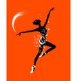 Ballet dancer for your design vector image vector image