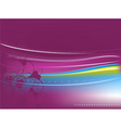violet abstract background vector image vector image