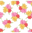 Abstract elegance seamless flower pattern with vector image