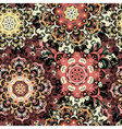 Beige seamless pattern with eastern mandalas vector image