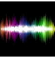 Sound Equalizer Wave Abstract Background vector image