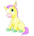 Magic Pony vector image