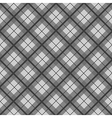 Black White Tartan Diamond Background vector image