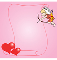 young cupid vector image vector image