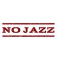 No Jazz Watermark Stamp vector image