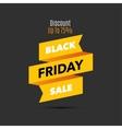 Black Friday sale design template Creative banner vector image