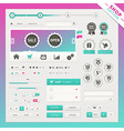 Shop edition of user interface elements vector image