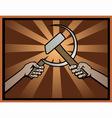USSR symbol vector image