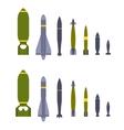 Air bombs vector image
