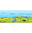 Play park vector image