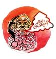 Santa Claus Creative Christmas card vector image vector image