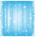 The snowy background vector image vector image
