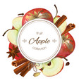 apple banner vector image