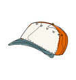 A hat is placed vector image vector image