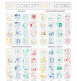 infographics concept icons of ecology heavy power vector image