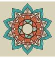 bohemian background design vector image