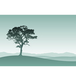 Lone Tree vector image