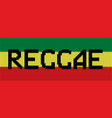 knitted texture in reggae colors vector image