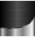 Metal silver Abstract background vector image