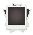 set photo frames vector image