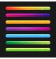 Progress Bar Set For Games Set 2 vector image vector image