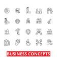 business metaphor meeting ideas conversations vector image