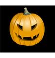 Halloween jack o lantern vector image