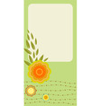 retro greeting cards vector image vector image