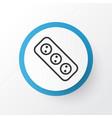 socket icon symbol premium quality isolated vector image