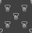 Vegan food graphic design sign Seamless pattern on vector image