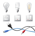 home electricity vector image