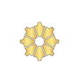 gear computer symbol vector image