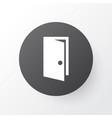 door icon symbol premium quality isolated vector image