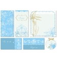 Wedding stationery vector image vector image