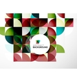 Business Abstract Geometric Template vector image