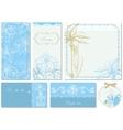 Wedding stationery vector image