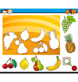 cartoon educational task for children vector image